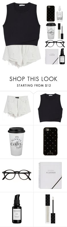 """""""I'm on my way driving at 90"""" by adibah-ghulami ❤ liked on Polyvore featuring Chicnova Fashion, A.L.C., Kate Spade, Root Science, Gucci and Herbivore"""