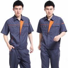 Free-Shipping-10-pcs-lot-Industrial-Work-labor-worker-mechanic-maintainer-technician-short-sleeve-workwear-uniform.jpg (600×600)