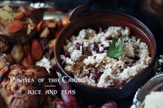 Pirates of the Caribbean: Rice and Peas Recipe