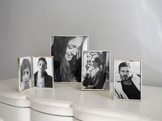Clean and simple lines for this popular silver-plated frame collection.  Measurements correspond to photo size. Price £0.00