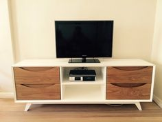Mid-Century Modern TV Stand by Custom Living