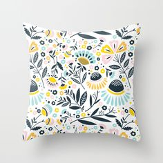 Pretty pillow by 2Birdstone