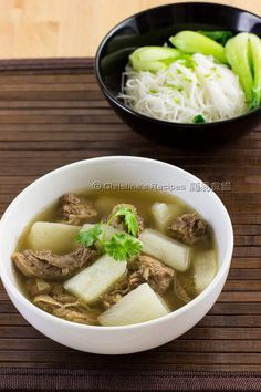 Beef Brisket in Clear Broth (清湯牛腩) from Christine's Recipes