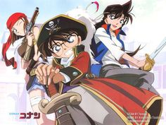 Detective Conan Meitantei Konan: Konpeki no Jorī Rojā Movie 11 Pirate