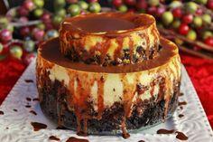 Orange Ricotta Tiered Cheesecake