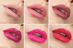 The colors from the left: Cookie, Brink, Grunge, LBB, I heart this, & Bossy from Colourpop Cosmetics