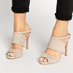 """Aldo Ama Suede and Patent Mules Wear a shoe that's bold and beautiful like you. This high-heel mule is classy, stylish and easy to wear. The mixed textures creates a high-fashion look that's ideal for any fashion maven. Just slip them on and let the compliments begin. In nude suede with faux patent trim/heel. Approx. 4-3/4""""H self-covered heel with 1/2"""" platform front. New without box, never worn aside from trying on. ALDO Shoes Heels"""