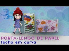 Porta lenço de Papel | fecho em curva - YouTube Tablet, Manicure, Youtube, Free Beading Tutorials, Tissue Paper, Quilts, Tote Bags, Atelier, Nail Bar