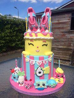 Beautiful Shopkins cake