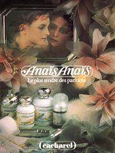 Another Beautiful 80's / 90's Advert advertising Anais Anais Perfume By Cacharel, Paris