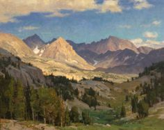 """The Wind River Range"" by Clyde Aspevig."