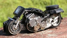 Motorcycles using old watches