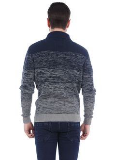 Image result for navy marled knit