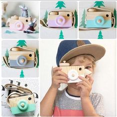 2017 New Mini Cute Wood Camera Toys Safe Natural Toys For Baby Children Fashion Educational Toys Birthday Christmas Gifts Toddler Christmas Gifts, Christmas Holiday, Holiday Gifts, Wooden Camera, Wooden Baby Toys, Wood Toys, Toy Camera, Natural Toys, Electronic Toys