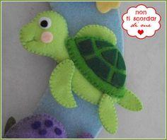 Annuncio nascita a tema marino - Bambini - Nascita - di Non ti sco... | su MissHobby