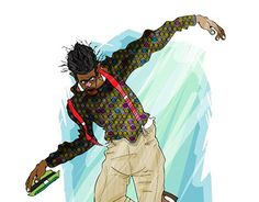 "Check out new work on my @Behance portfolio: ""dance negga"" http://be.net/gallery/50748849/dance-negga"