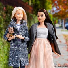 55.6 тыс. отметок «Нравится», 205 комментариев — Barbie® (@barbiestyle) в Instagram: «Style tip: mix business and casual for a perfect layered look! ✔️ #barbie #barbiestyle»