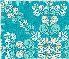�2011 Aloha Splash fabric by glimmericks on Spoonflower - custom fabric