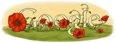 Google Doodle: Anzac Day New Zealand 2010