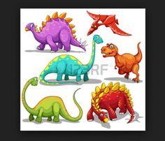 diferentes especies de dinosaurios para niños
