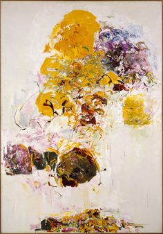Joan Mitchell  Sunflowers Oil on canvas  1969 The Metropolitan Museum of Art
