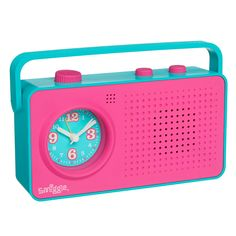 smiggle rainbow talking clock instructions