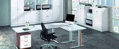 Funktionelle Stahlmöbel für die günstige Lager- und Betriebseinrichtung im office-4-sale-Onlineshop.