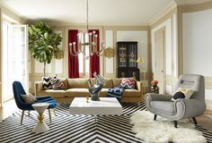 Look To Jonathan Adler To Luxe Up Your Living Room. Living Room Furniture,  Living
