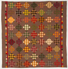 Dreaming of Autumn by Diane Knott for Quilt Magazine April/May 2013