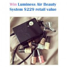 Win a Luminess Air Beauty System ^_^ http://www.pintalabios.info/en/fashion-giveaways/view/en/3287 #USA #Aesthetic #bbloggers #Giweaway