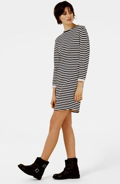 Topshop Stripe Sweater Dress | Nordstrom