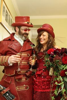 STEAMPUNK WEDDING 2010