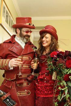 STEAMPUNK WEDDING 2010