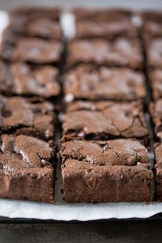 Olive Oil Brownies (One Bowl, Dairy Free) - Simply Whisked