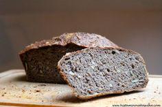 Pohankovo-čirokový chléb ala Luce's bread (bez lepku, bez kvasnic, bez mléka i bez vajec)
