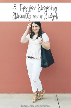 5 Tips for Ethical Shopping on a Budget by North Carolina ethical fashion blogger Still Being Molly