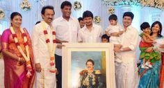 Rare pics of M K Stalin, the heir apparent of DMK chief Karunanidhi, and family
