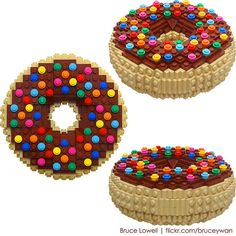 Lego doughnut