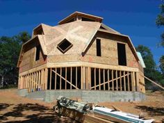 Dome Home Second Floor Supporthome improvement design Monolithic Dome Homes, Geodesic Dome Homes, Dome House, Unusual Homes, Traditional House, Second Floor, Building A House, House Plans, Exterior