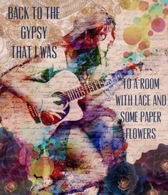 Back to the gypsy that I was .... @arty