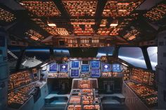 Space Shuttle Cockpit Columbia Poster at AllPosters.com
