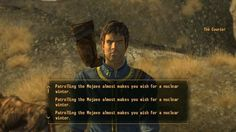 Fallout: New Vegas from the NCR Trooper's perspective