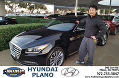 https://flic.kr/p/QcocLf | Happy Anniversary to Yong on your #Hyundai #Genesis from Frank White at Huffines Hyundai Plano! | deliverymaxx.com/DealerReviews.aspx?DealerCode=H057