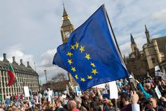 The protest is aiming to reverse the EU leaving process.
