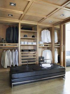 ComfyDwelling.com » Blog Archive » 48 Practical And Stylish Masculine  Closets Closet Space,