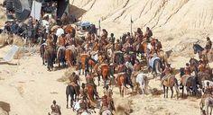 'Juego de Tronos' rodaje en Navarra. El Desierto de las Bardenas Reales se convierte en territorio dothraki. #JuegodeTronos #Series #Televisión
