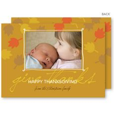 Wishful Thanksgiving Photo Cards #StationeryStudio