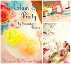 Glam Spa Party + $150 Party Giveaway! | Pizzazzerie