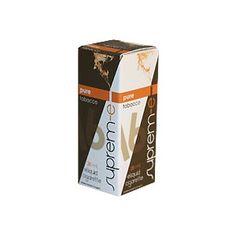 Il liquido Pure Supreme presenta aroma forte,intenso ed alla fine amaro, ottenuto miscelando le classiche note di gusto del tabacco proveniente da differenti parti del mondo