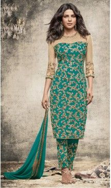 Bollywood Celebrity Priyanka Chopra Salwar Kameez in Emerald Color | FH518478771 #heenastyle , #salwar , #kameez , #suits , #anarkali , #party, #wear , #panjabi , #patiyala , #abaya , #style , #indian , #fashion , #designer , #bridel , #evening , #formal , #office , #deaily , #dupatta , #churidar , #palazo , #plazzo , #nerrow , #pant , #dress , #dresses , #fashion , #boutique , #mode , #henna , @heenastyle , #latest , #gowns , #pakistani , #readymade , #stitched , #plus , #size , #islamic